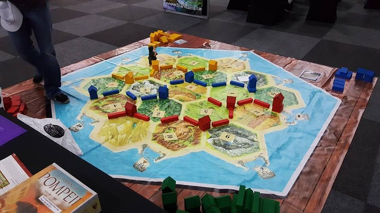 Oversized board games at ICON