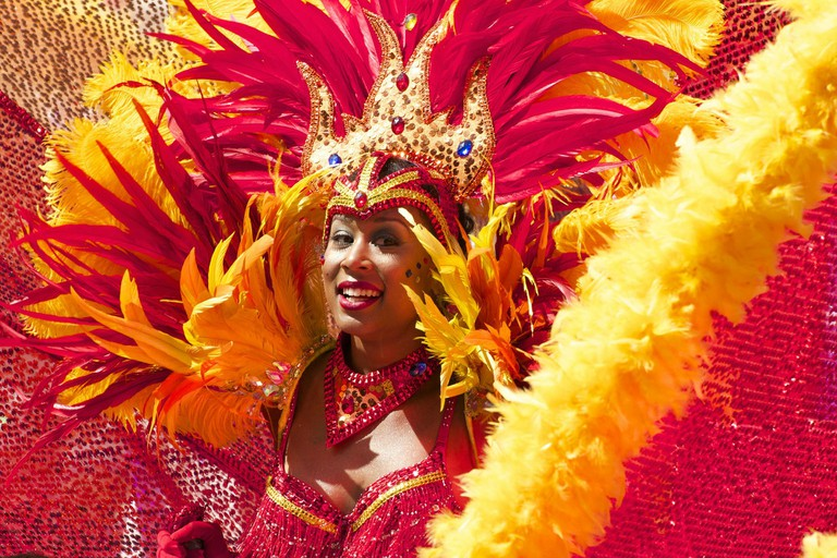 Dancer at the Rio Carnival