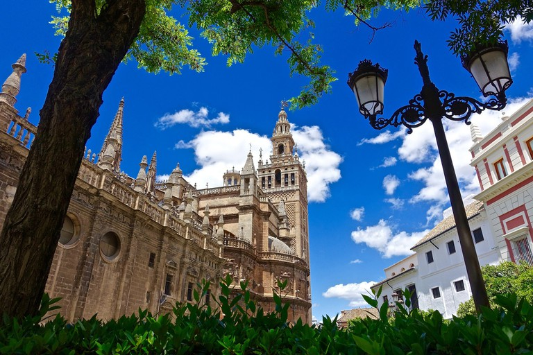 Seville's cathedral is the largest gothic cathedral in the world