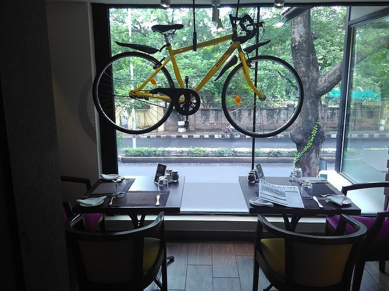 Ciclo Cafe is a new cycle-themed cafe in Chennai