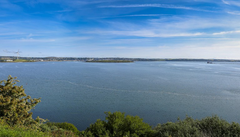 Modern Day Cork Harbour – from some angles, it still looks relatively untouched
