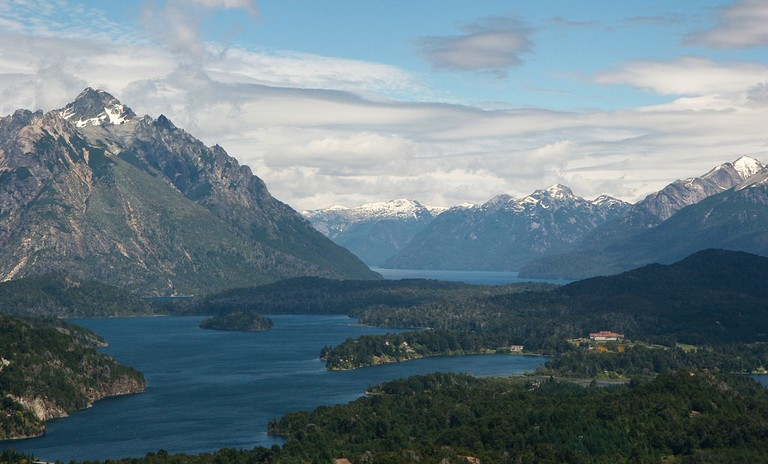 Bariloche in the lake district