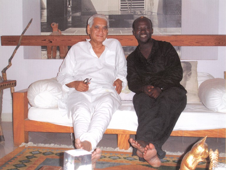 David Adjaye and Charles Correa