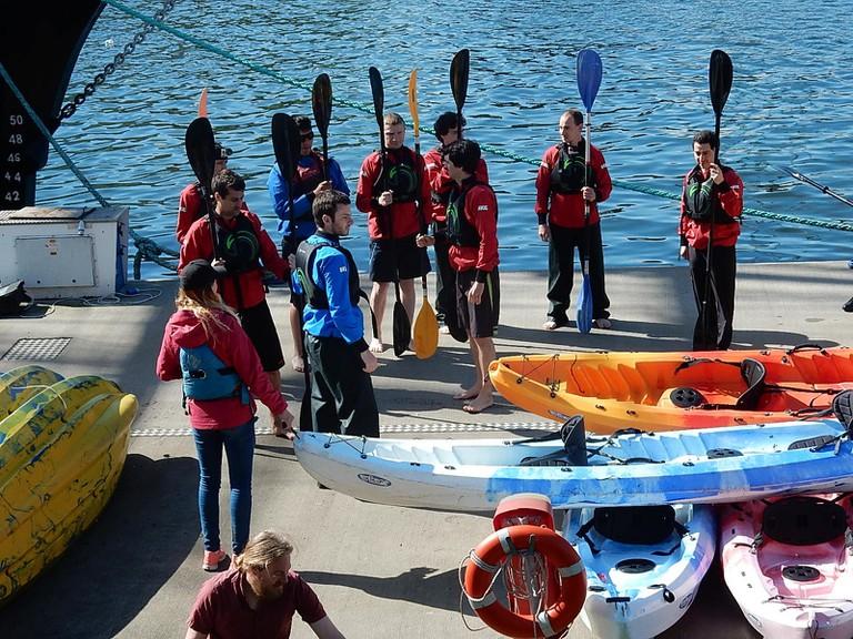 dublin kayaking