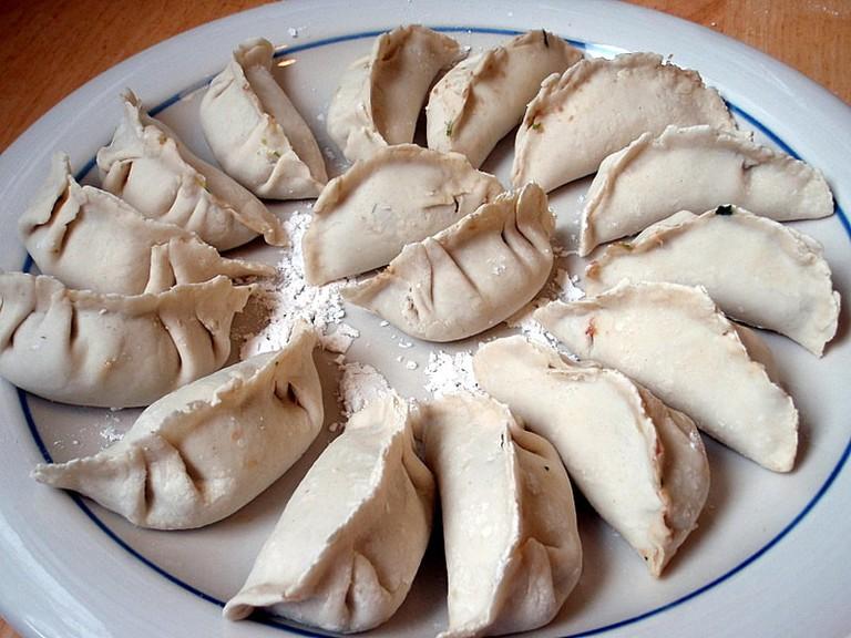 Wrapped dumplings