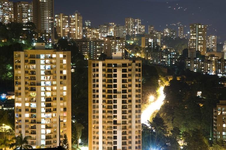 El Poblado is home to the best nightlife in Medellin