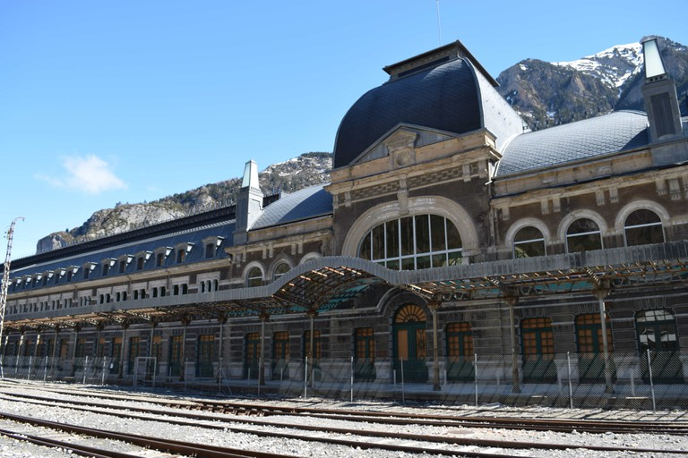 Canfranc railway station today