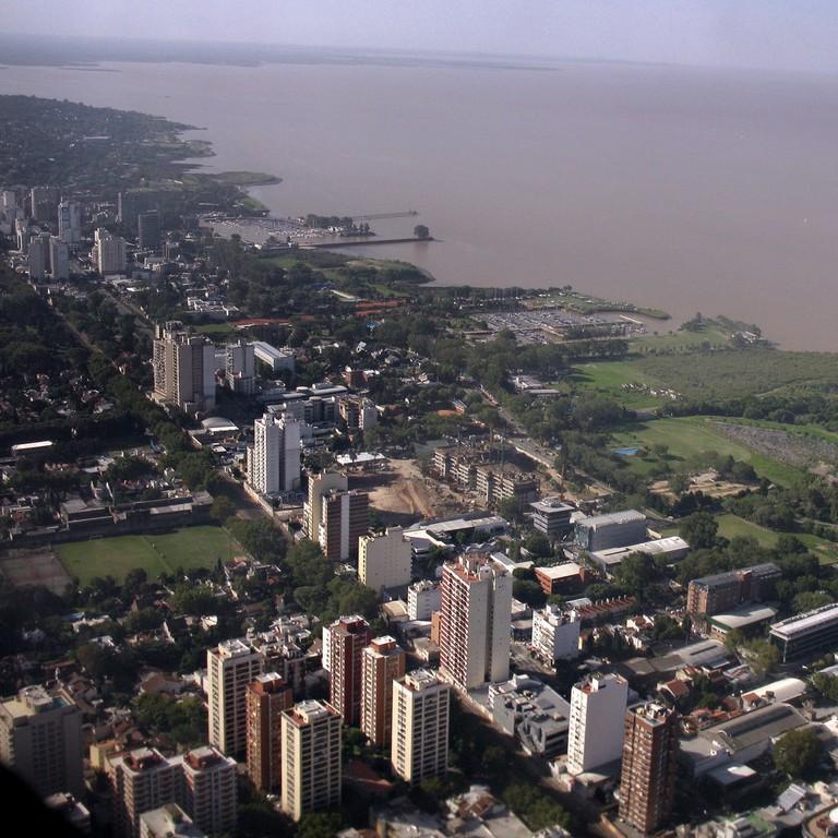 Lunfardo is rioplatense, or of the Rio de la Plata, the river that runs between Argentina and Uruguay