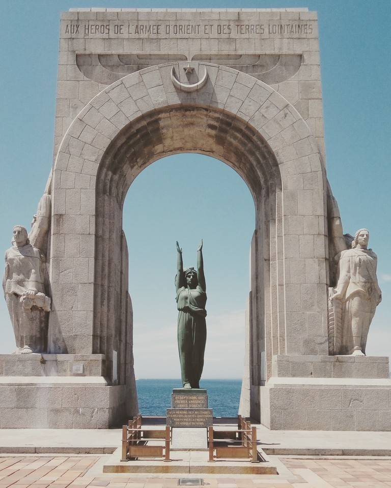 The Door to the Orient (La Porte d'Orient) commemorating the people of French-African descent who gave their lives for France in the World War