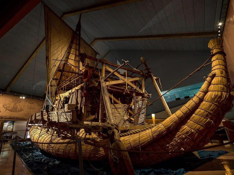 Exhibit at the Kon-Tiki Museum | Courtesy of the Kon-Tiki Museum