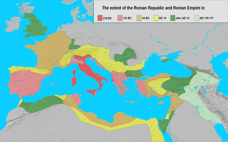 Rome's vast empire certainly had something to do with the rise of the nickname the Eternal City
