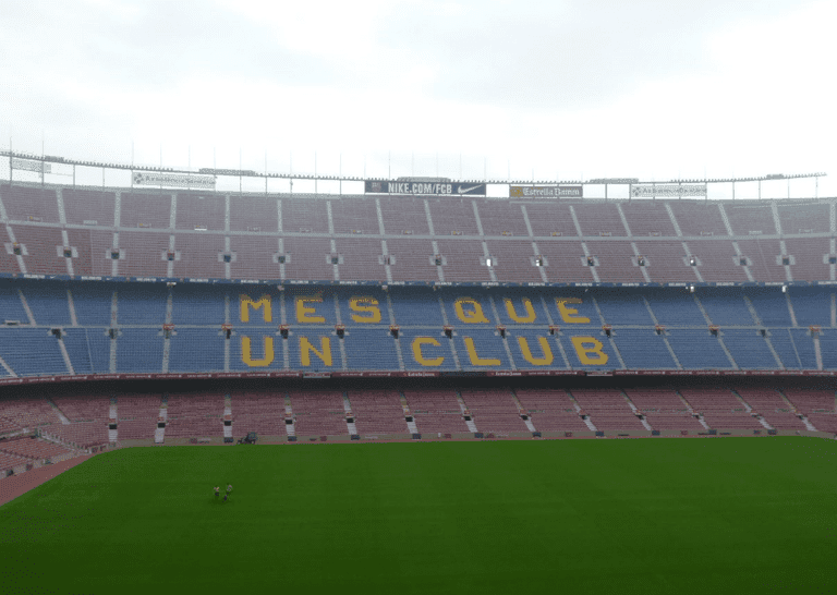 Pope John Paul II filled the Camp Nou more than Messi