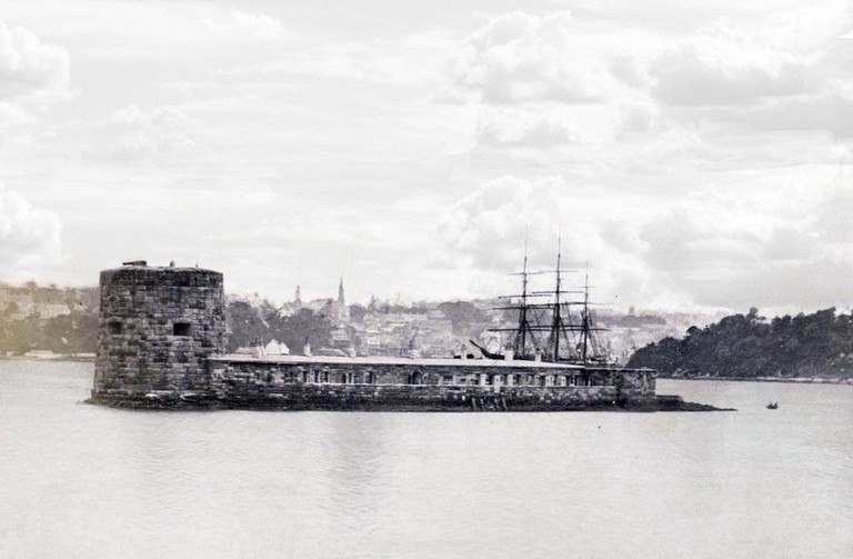 Fort Denison during the 19th Century | © National Archives of Australia/Wikimedia Commons