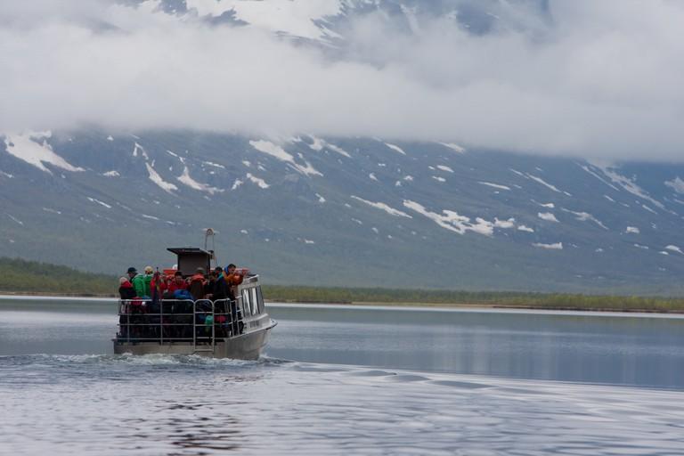 Lake Ladtjojaure