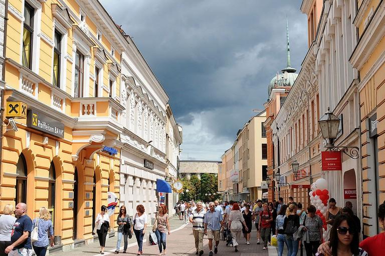Banja Luka's European-style Gospodska Street | ©Darko Gavric