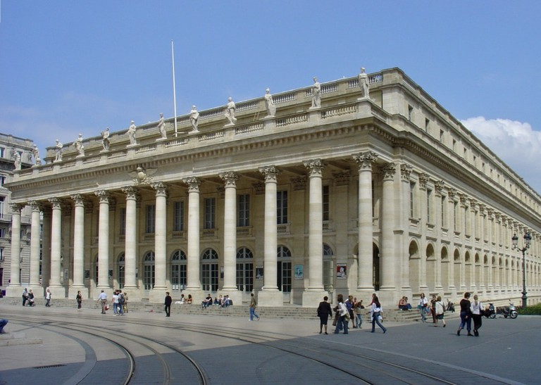 Grand Theatre of Bordeaux|© WikiCommons