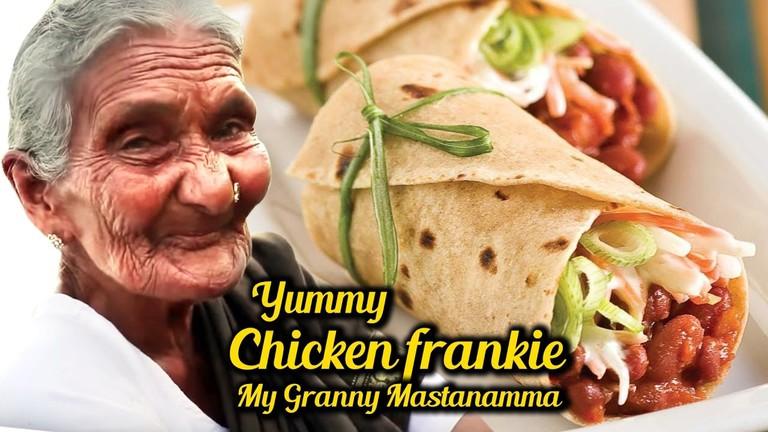 Chicken Frankie by Granny