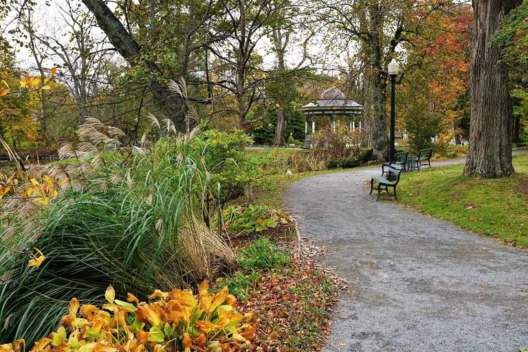 A park in Halifax, Nova Scotia
