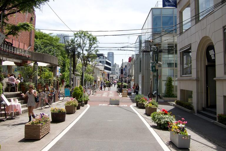 Cat Street, Jingumae