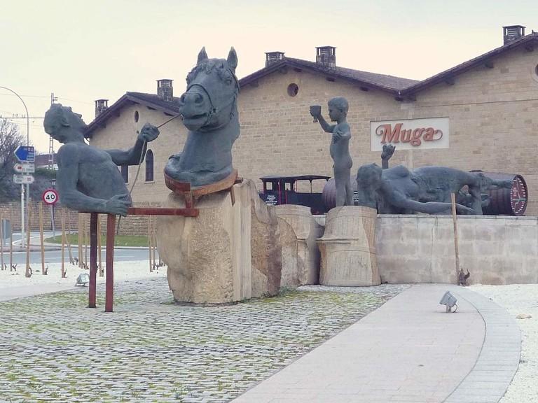 Bodegas Muga, Haro, La Rioja | ©Zarateman / wikimedia commons