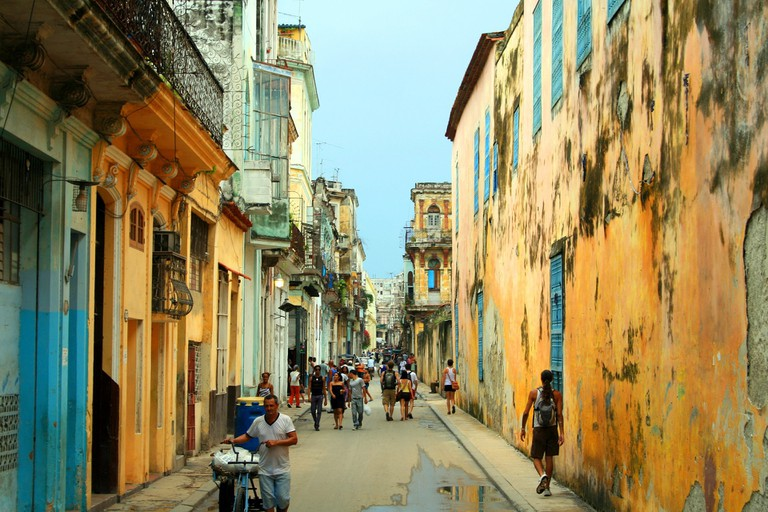 Try to spot some advertising in Cuba
