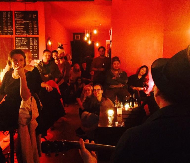 Open mic at Laksmi Bar Berlin