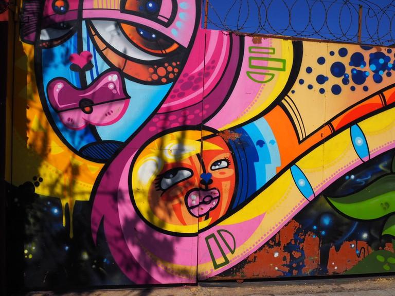 Experiencing Maboneng's eclectic street art