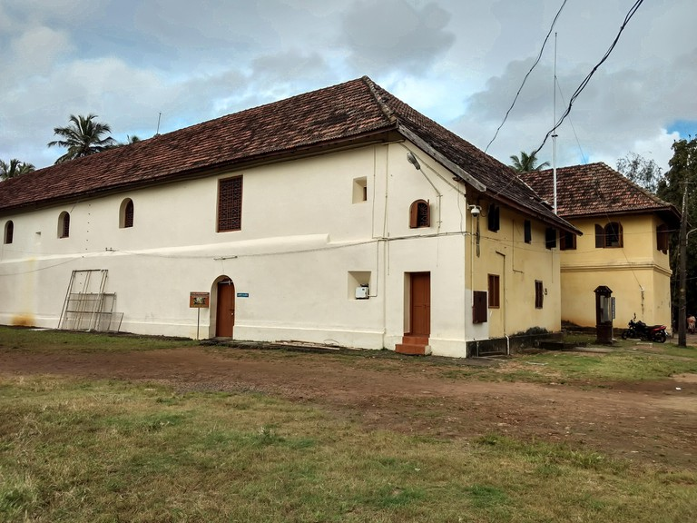 The Mattancherry Palace was a gift to the King of Cochin from the Portuguese