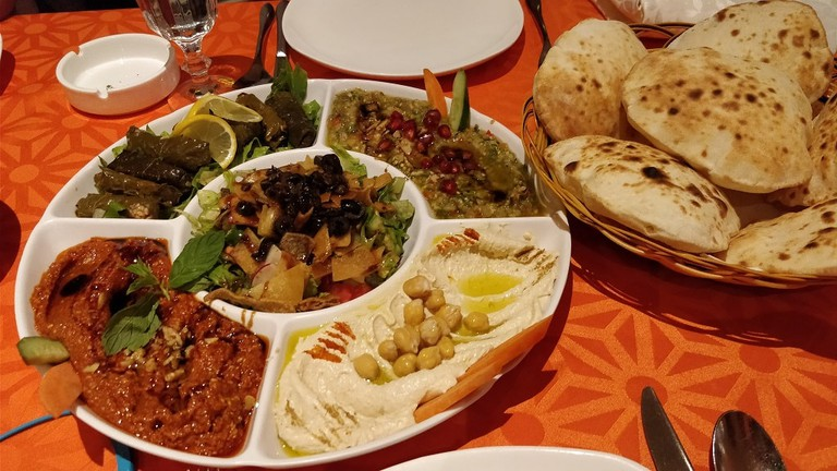 Mixed Appetizer at Al Shami Home Restaurant