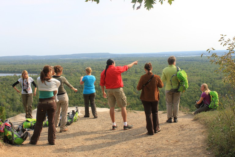 Guided Hiking | Courtesy of Great Spirit Circle Trail