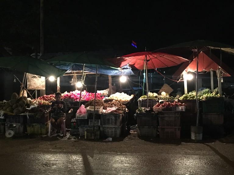 Night Street Vendor