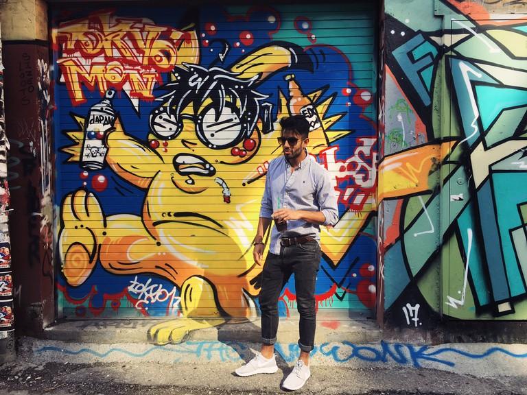 Graffiti Alley | © Sahar Aman