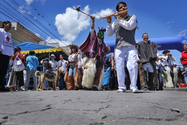 Inti Raymi dancers | © Carlos Rodríguez/Andes / Flickr