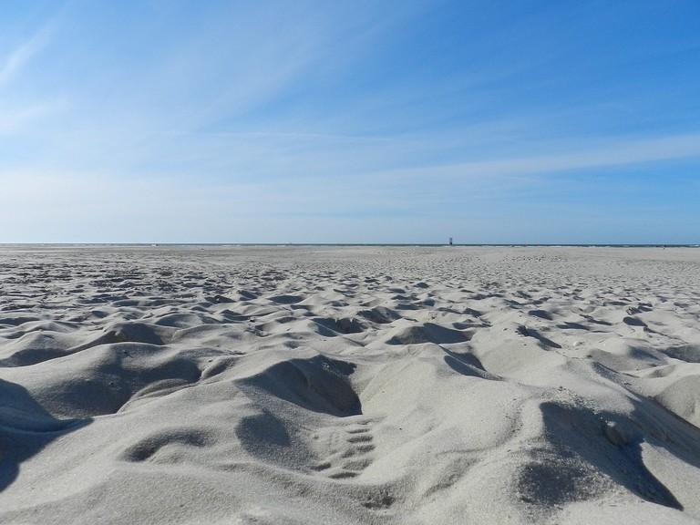 Juist beach