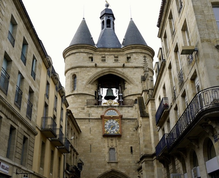 La Grosse Cloche in historical Bordeaux|©Marie Thérèse Hébert and Jean Robert Thibault:WikiCommons
