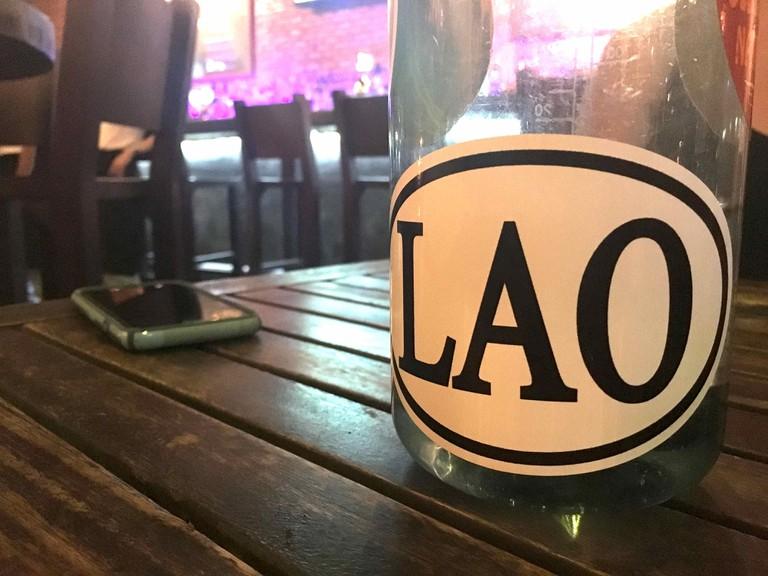 Lao Bumper Sticker