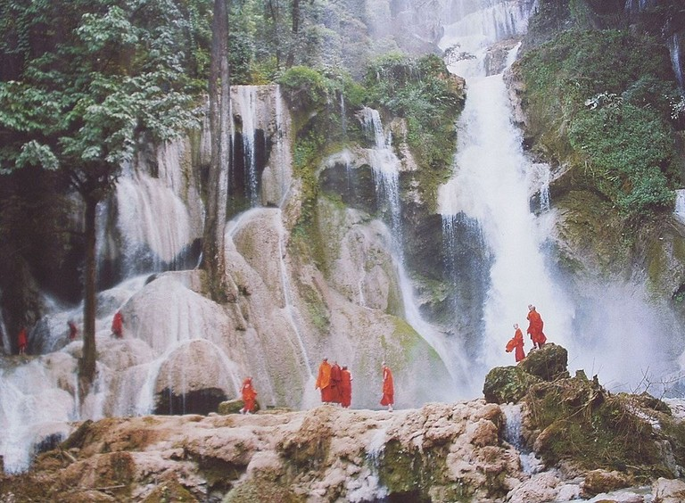 Lao Waterfall