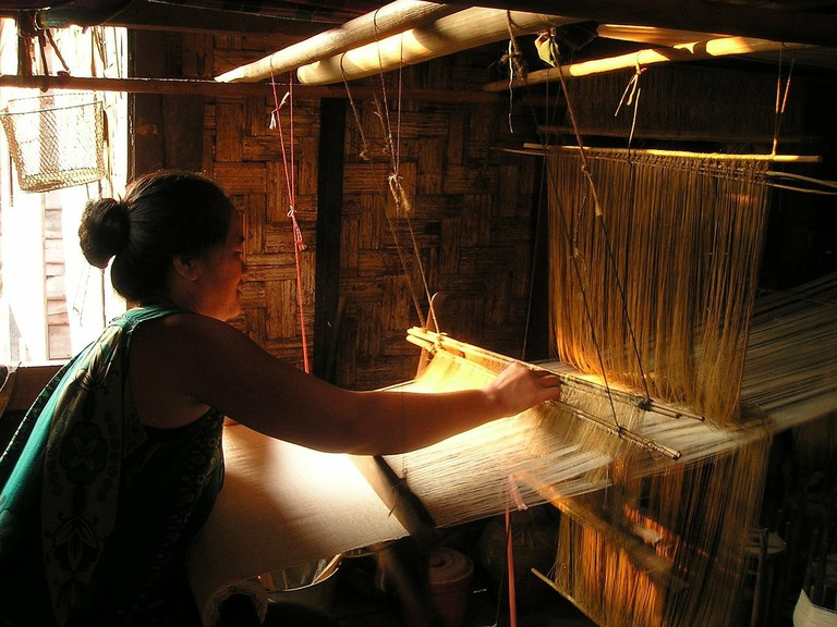 Lao weaver | © Pixabay