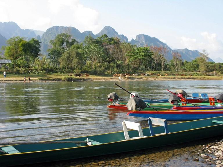 Vang Vieng, River