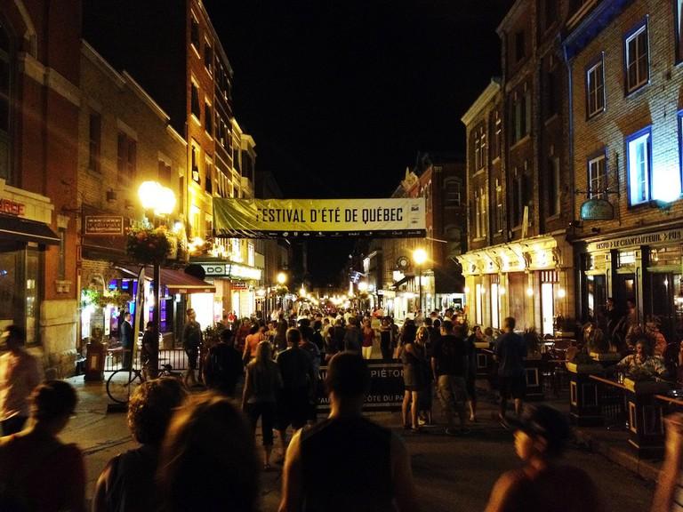 Le Festival d'été de Quebec