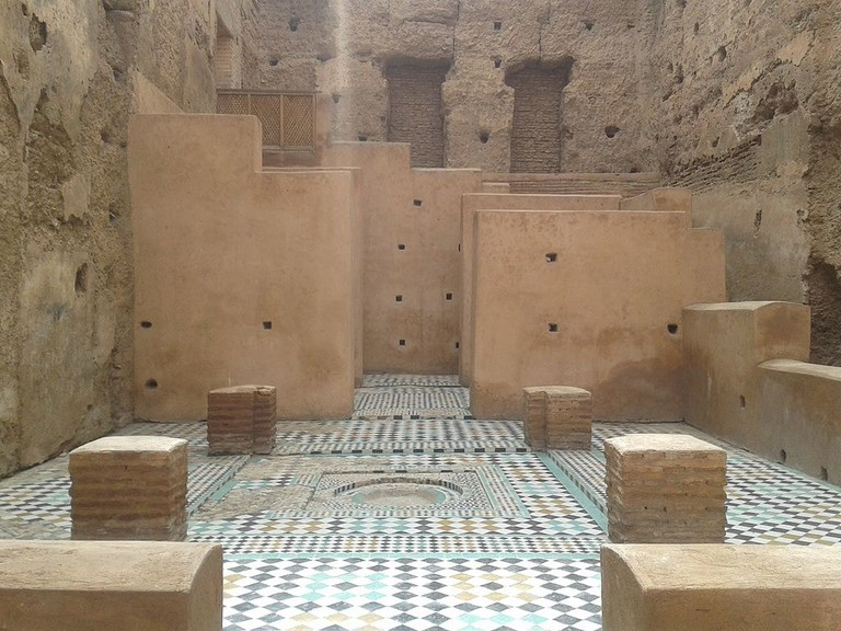 Old designs in El Badi Palace