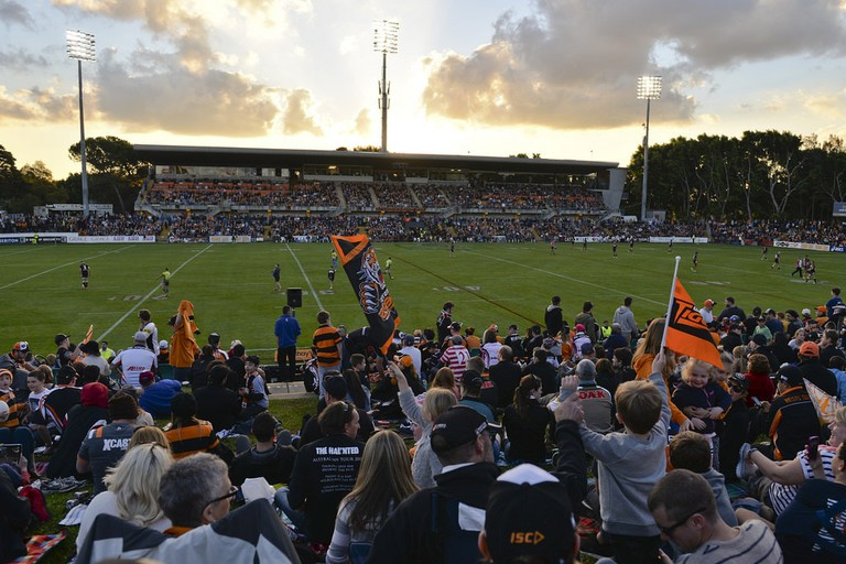 Leichhardt Oval sunset | © Scott Brown/Flickr
