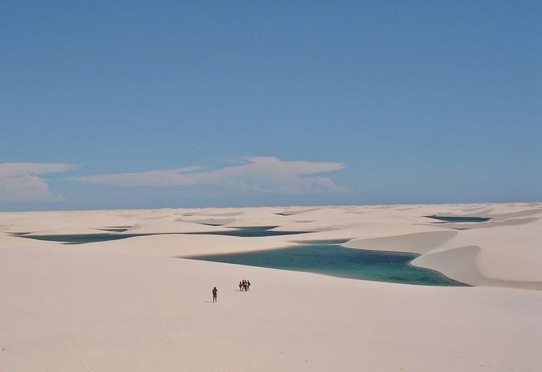 Lencois Maranhenses National Park | © Vitor 1234/WikiCommons