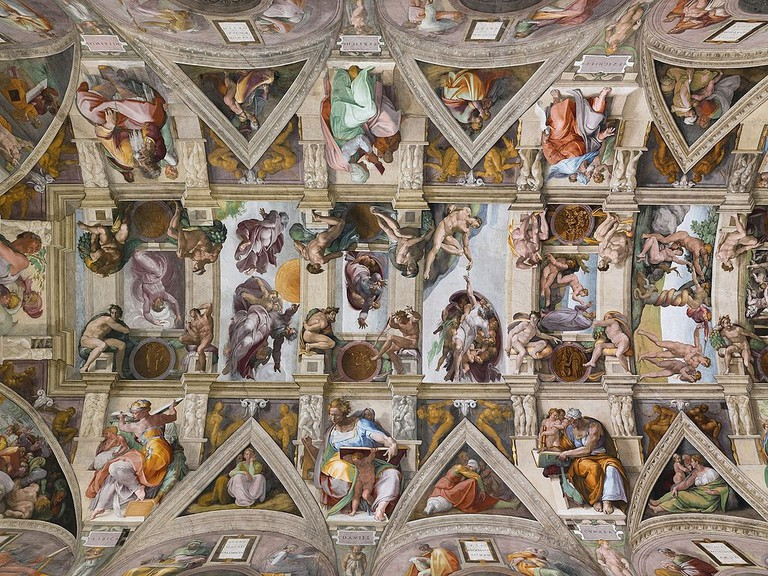 More than 5 million people a year visit the Sistine Chapel | © WikiCommons