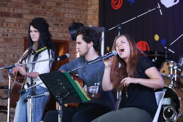 Local musicians perform at Aardklop