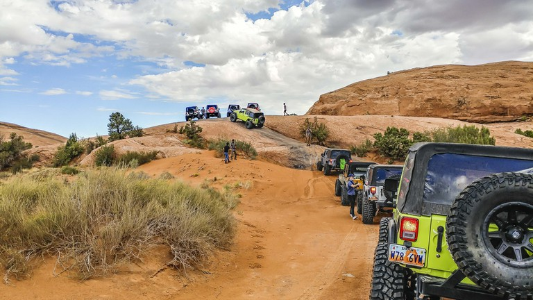 Four-wheeling in Moab, Utah | © Michael LoRé/Culture Trip