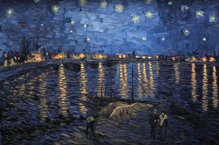 A starry night in Loving Vincent
