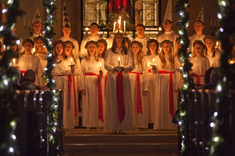 Lucia is celebrated on December 13