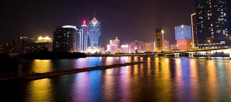 Macau is rich