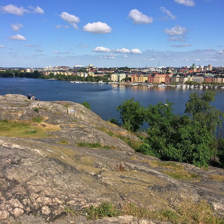 Challenge yourself on the cliffs of Södermalm / Photo courtesy of Wikipedia Commons